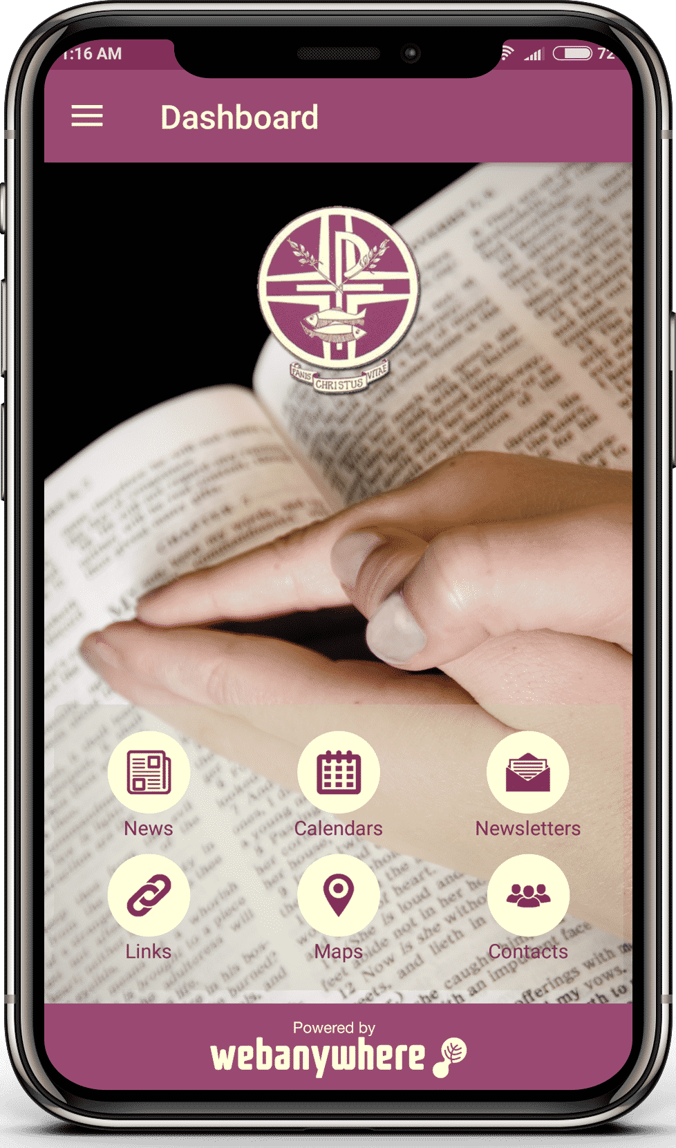 Corpus Christi High School mobile app