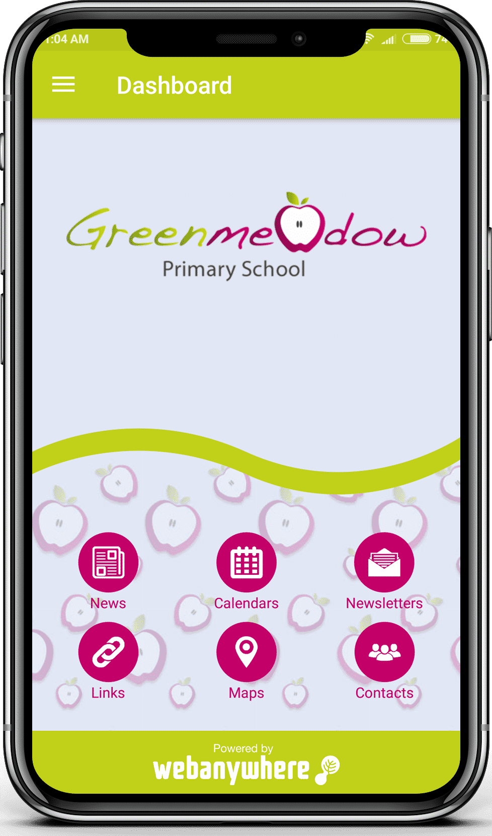 Greenmeadow mobile app
