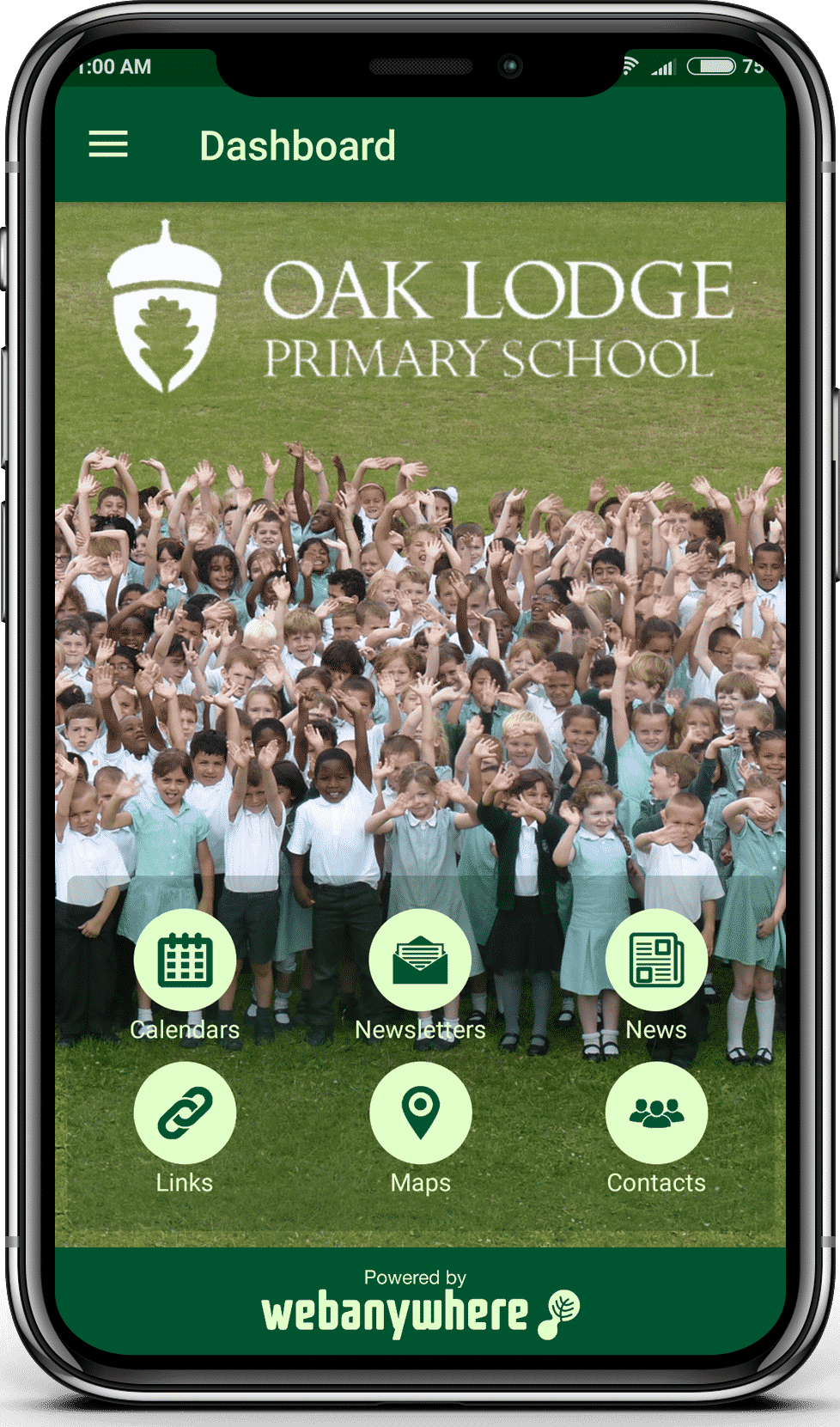 Oak Lodge school mobile app