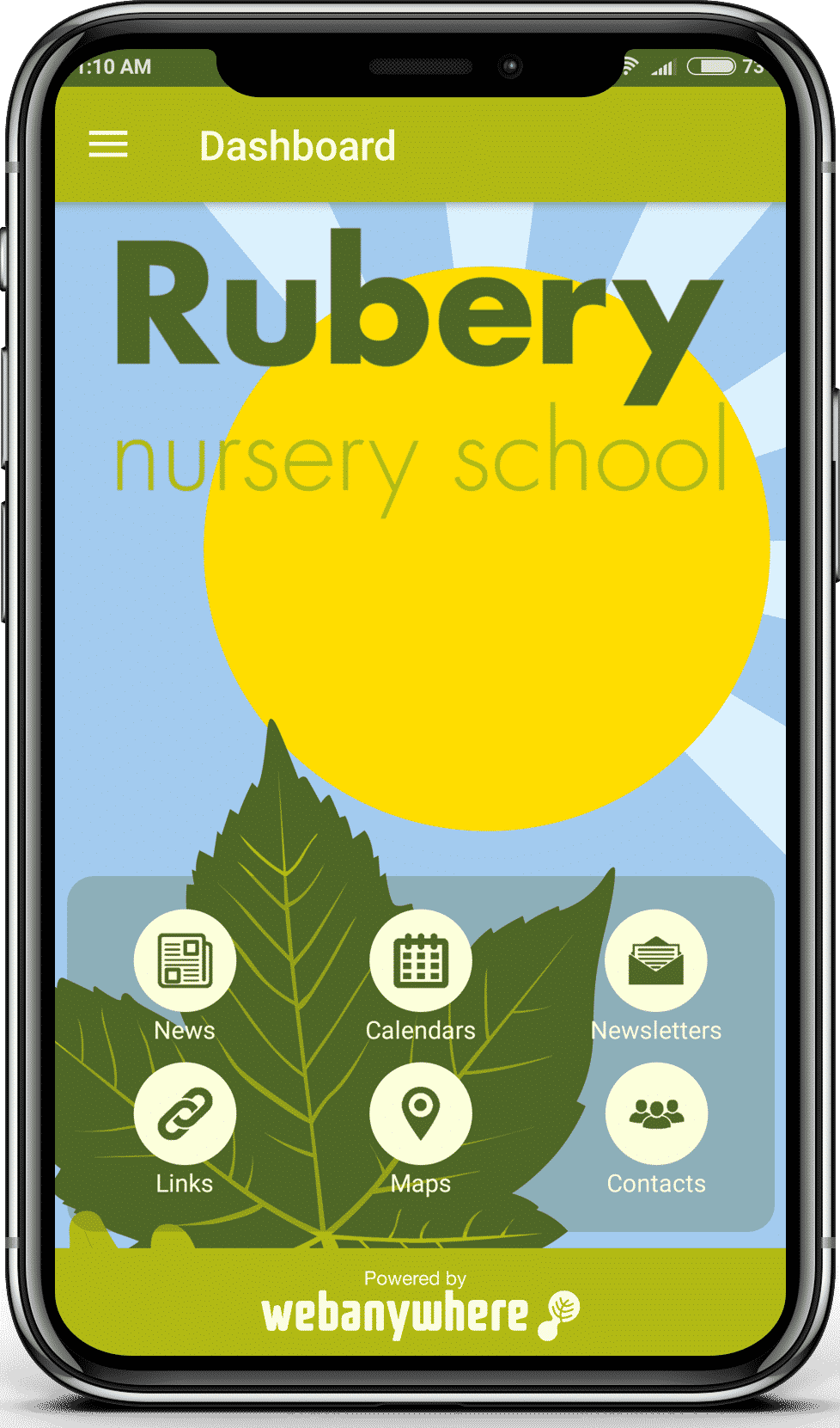Rubery School mobile app