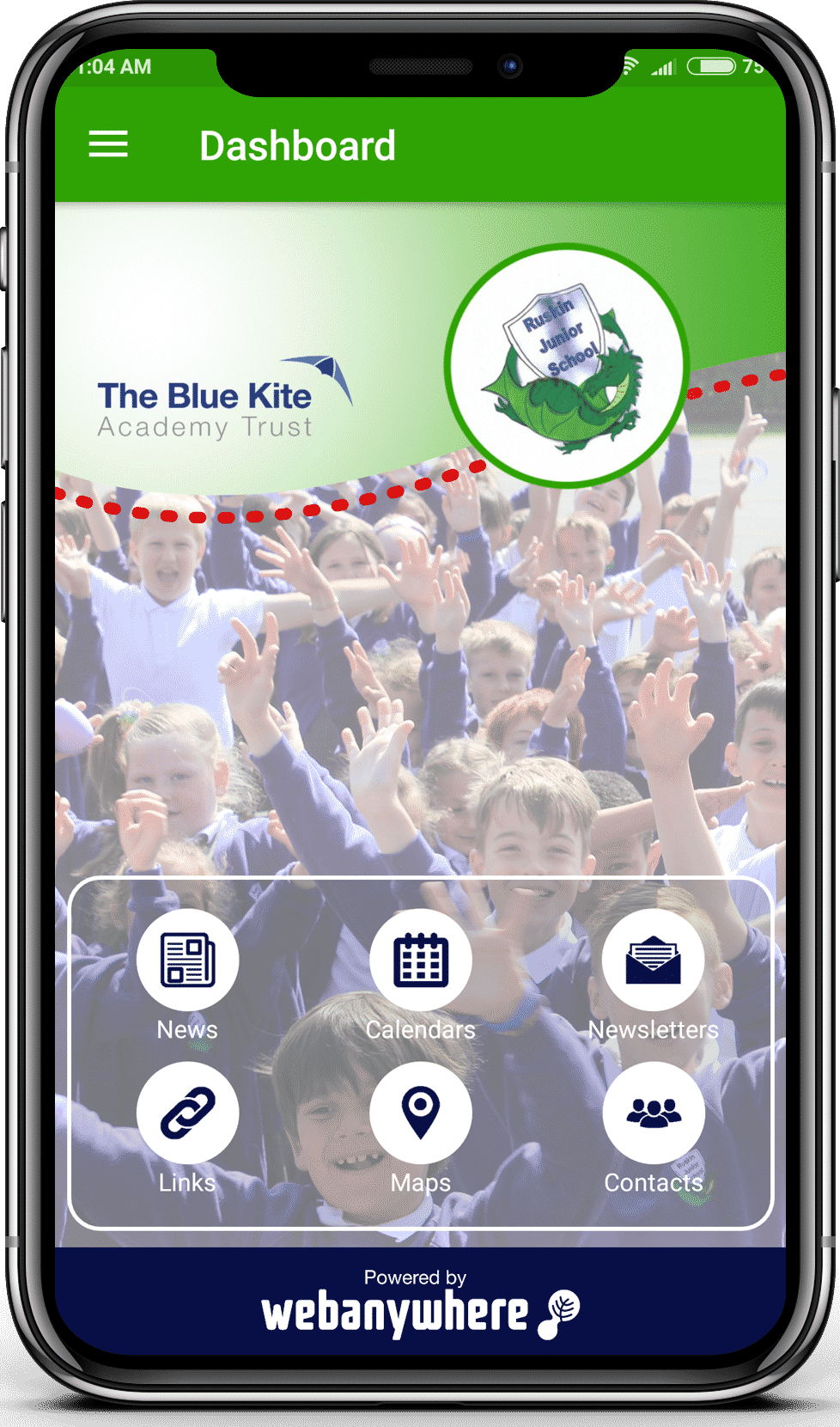 Ruskin Junior mobile app