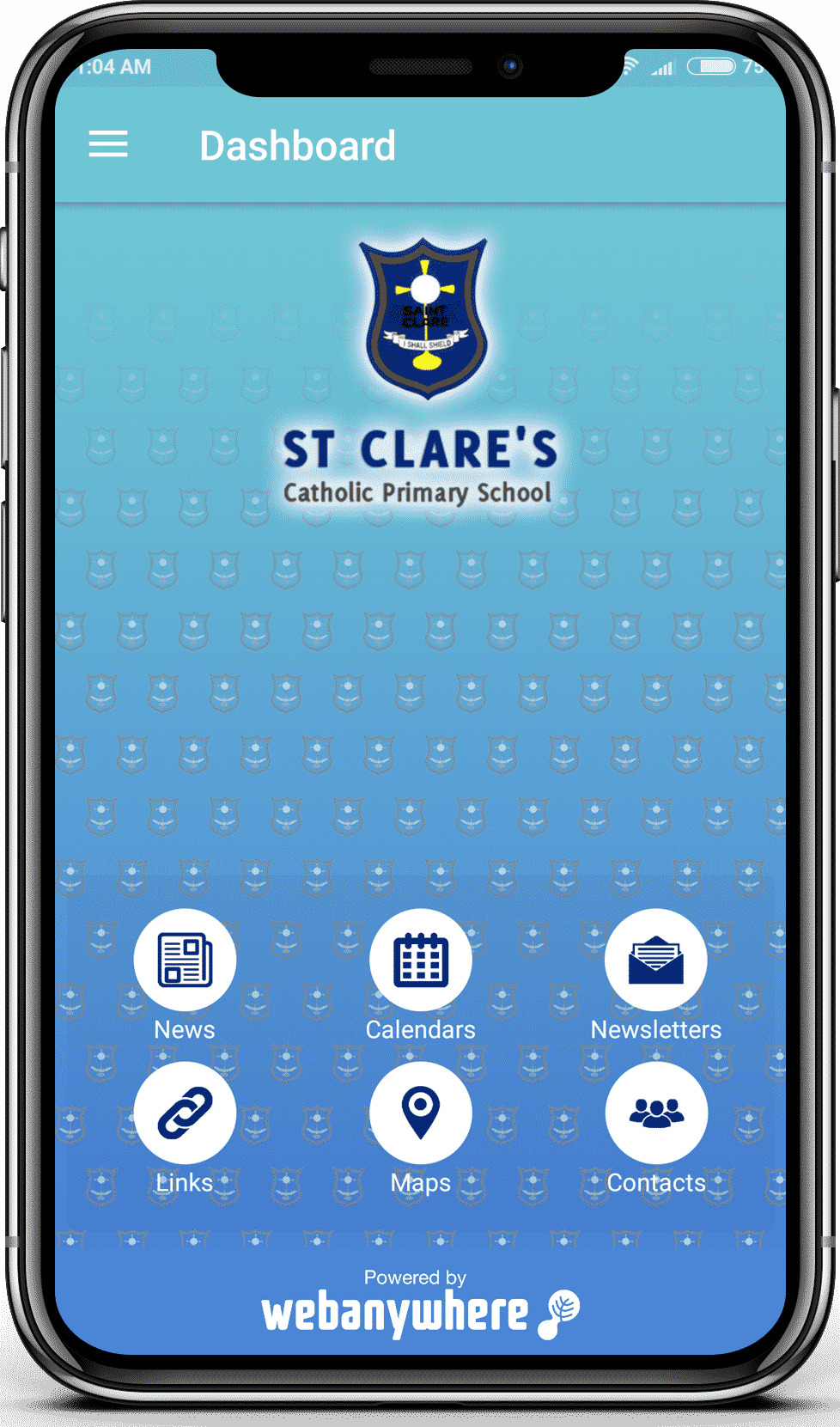 St Clare mobile app