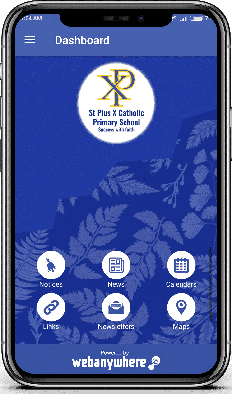 St Pius school mobile app