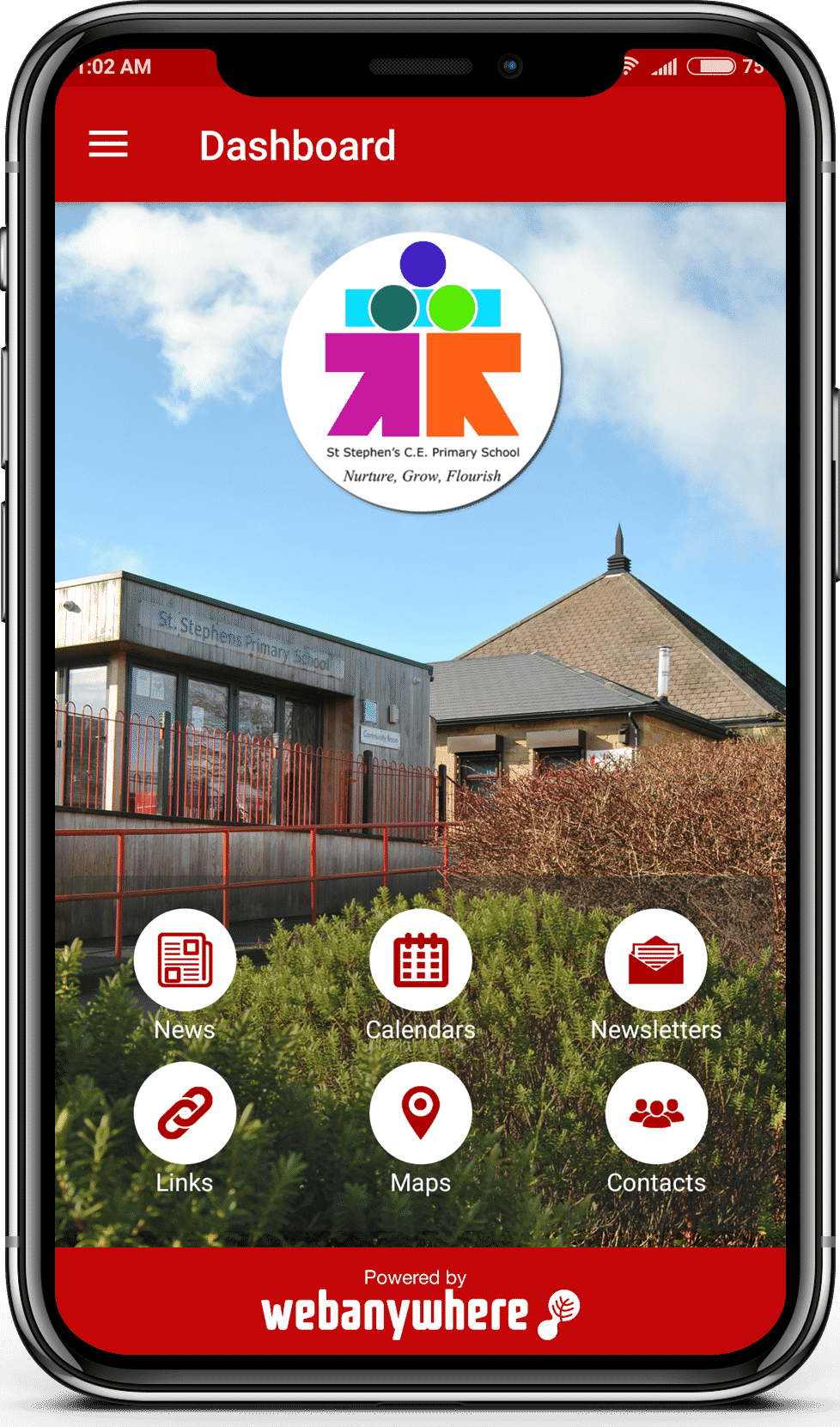 St Stephen_s school mobile app
