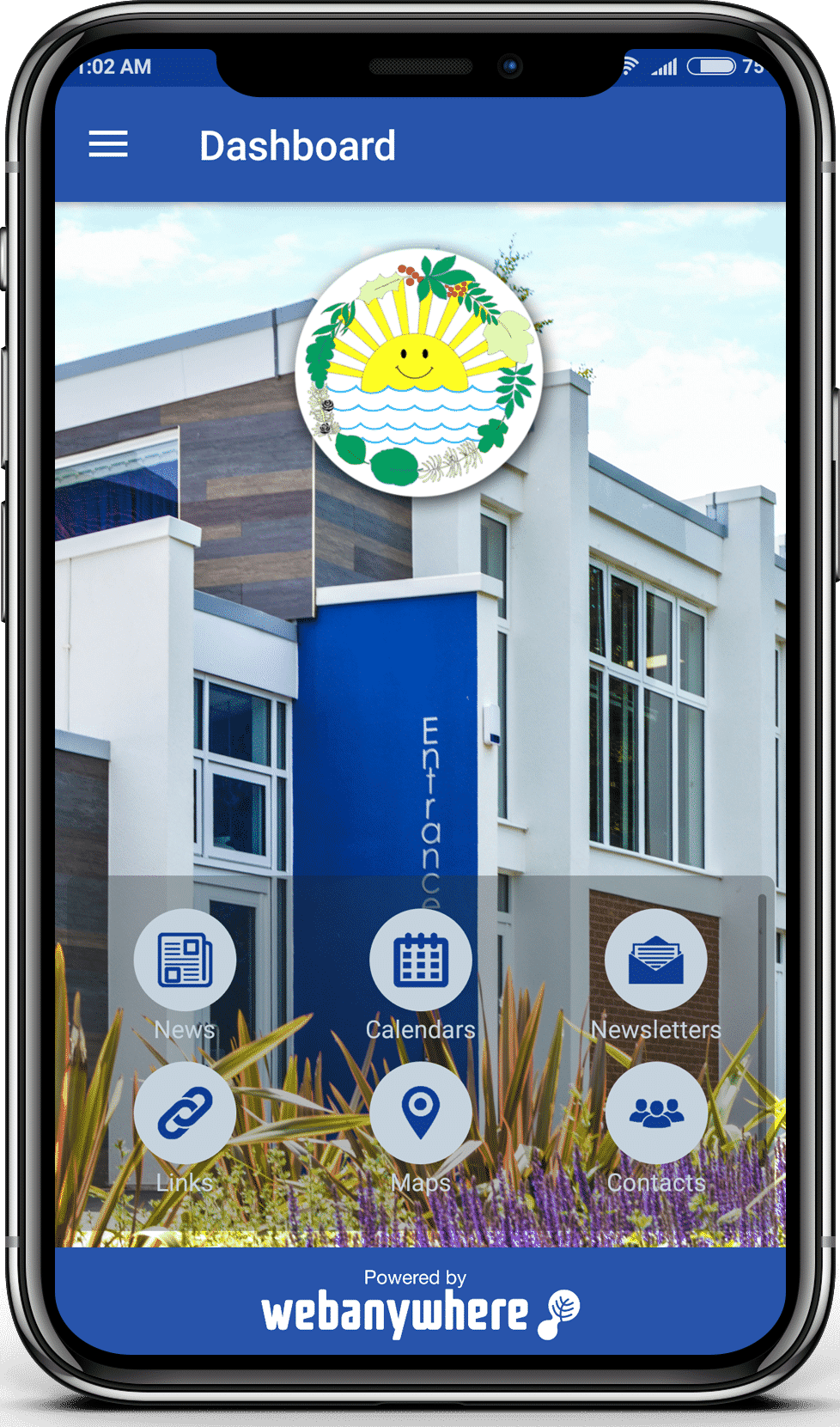 West Ewell school mobile app